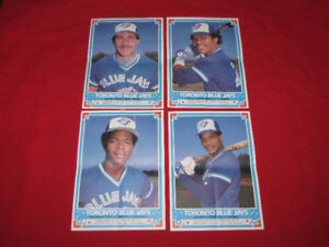 1985 Blue Jays and 1982 Expos O-Pee-Chee mini-poster sets