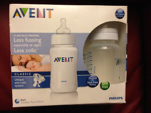 3-pack of 11-oz bottles - Avent