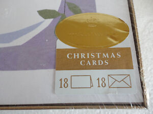 Hallmark pack of 18 holiday greetings and envelopes set NEW London Ontario image 3