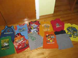 boys size 5/6 tank shirts
