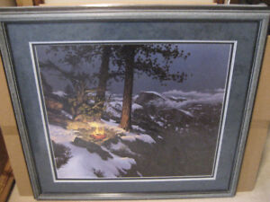 STEPHEN LYMAN WARMED BY THE VIEW LIMITED EDITION PRINT