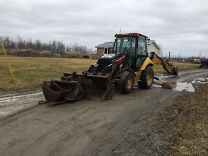 2006 cat 420e it backhoe with extras
