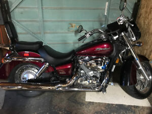 2004 Honda Shadow Aero - Low KM - with tons of extras!
