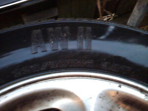 For Sale 2 brand new Motomaster AW2 & 2 goodyear tigerpaw tires London Ontario image 8