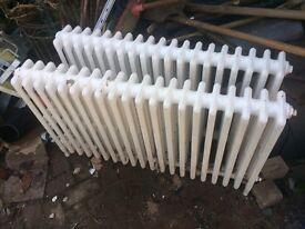 Old school radiators x 2