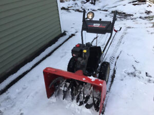 "30"" two stage snow blower for sale"