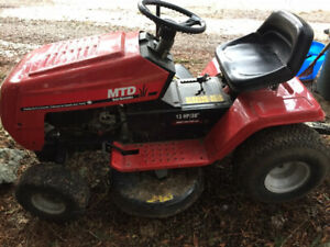MTD Riding Mower 13.0hp 38""