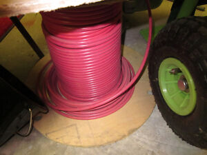 RED #8 ELECTRICAL WIRE