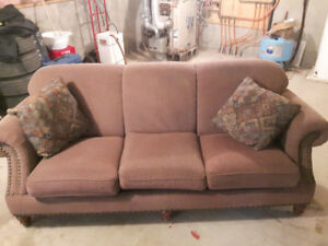 Matching Couch & Chair with Accent Chair