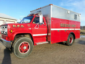 FIRE TRUCK - RESCUE UNIT - 40000kms