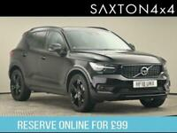 2018 Volvo XC40 2.0 T5 First Edition Auto AWD (s/s) 5dr SUV Petrol Automatic
