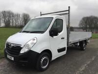 Vauxhall Movano 3.5T 2.3Cdti Transit/Sprinter Size 14ft Dropside, Very Clean