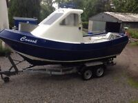 21' GRP Fishing boat