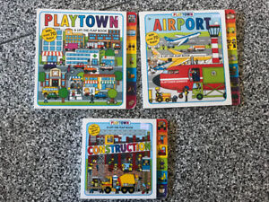 Toddler - kids play town books $15 for all