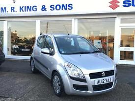Suzuki Splash 1.2 SZ3 Petrol Manual Silver 2012