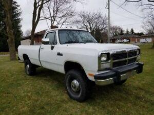 1993 Dodge D250 4x4