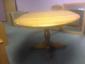 Solid Hardwood Tables and items