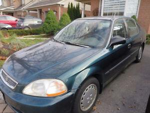 1997 Honda Civic LX 4DR Sedan