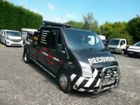 Ford Transit D/Cab Spec lift, recovery. TDCi 125ps [DRW] 2013, 92,743miles.
