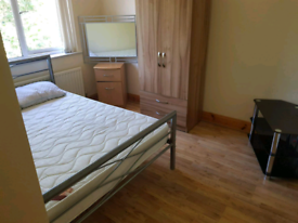 Double room in detached house available for rent