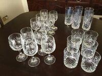 Crystal Glasses - bundle