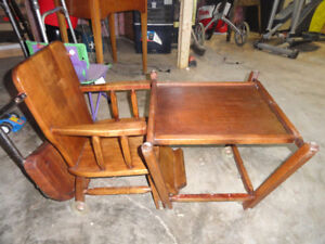 High chair / toddler table