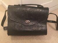 Black vintage style bag