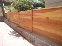 Fence and deck construction services around Greater Toronto Area
