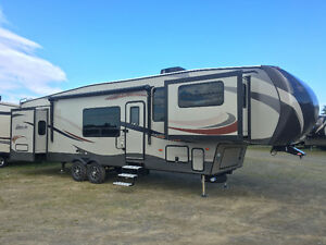 Campers for sale at low interest financing.
