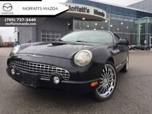 2002 Ford Thunderbird Convertible Hardtop  - Low Mileage