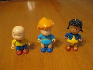 CAILLOU FIGURES LITTLE PEOPLE SIZE