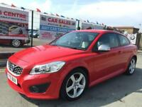 VOLVO C30 R DESIGN 2.0 D POWERSHIFT AUTO 2010 *** WARRANTED LOW 45,600 MILES