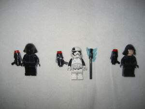 Lego Star Wars Minifigures First Order lot