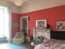 1 month let! Large sunny double room in friendly Stockbridge flat