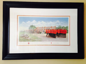 "RCMP ""The Graduation"" print"