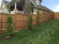 Fences, Fence post holes and setting