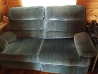 Loveseat with Recliner by Lazy Boy