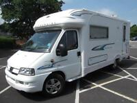 AUTOCRUISE WENTWORTH, LUXURY 2 BERTH, 2 SINGLE BEDS, LOW MILEAGE, EXCELLENT