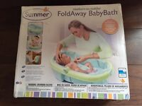 Foldaway Baby Bath - good for travel