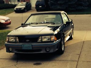 CHERRY!!! 1989 Mustang 5.0 GT Convertible 25th Anniversary MINT