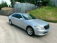 2009 09 REG MERCEDES BENZ S 320 3.0TD 7G-TRONIC L AUTO SPARES OR REPAIRS !!!