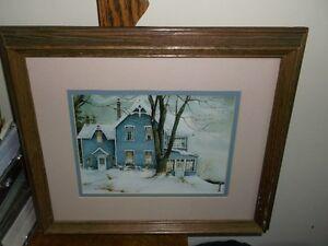 """Trisha Romance Print """"DUSK"""" Framed Belleville Belleville Area image 2"""