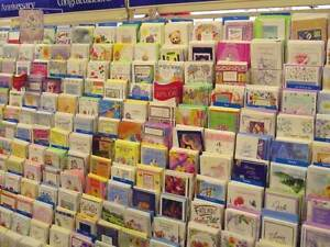 Closeout Lot Of 120 Assorted Greeting Cards. Birthday, Friendship, Love Etc New!