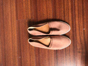 Frye leather shoes, pink, women's 6.5
