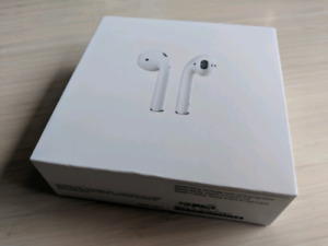 PERFECT condition GENUINE Apple Airpods, box, 10 MONTHS WARRANTY