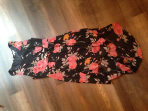 Charlotte Russe high-low dress size medium