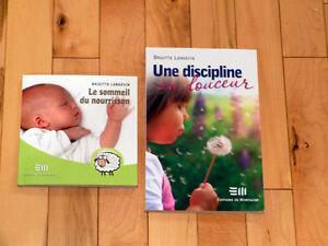 2 livres de Brigitte Langevin