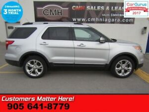 2013 Ford Explorer Limited  4X4 NAV CAMERA LEATHER PWR-GRP POWER