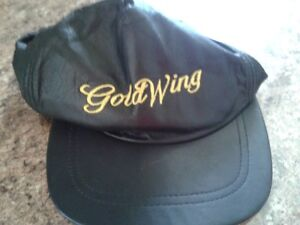 Goldwing leather hat