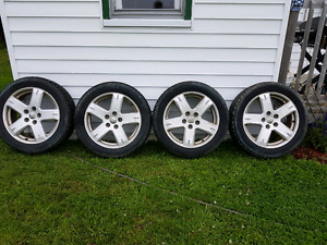 Dodge journey rims and winter tires
